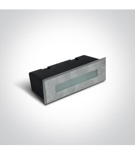 7W LED Įmontuojamas šviestuvas Steel IP65 3000K 68072B/W