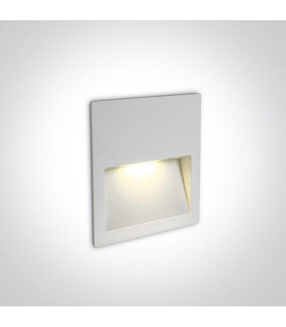 4W LED Įmontuojamas šviestuvas White IP65 3000K 68068A/W/W