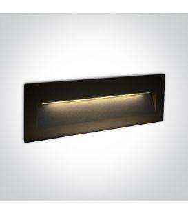 7W LED Įmontuojamas šviestuvas Black IP65 3000K 68068C/B/W