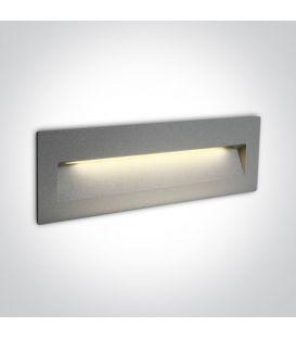 7W LED Įmontuojamas šviestuvas Grey IP65 3000K 68068C/G/W