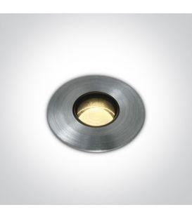 2W LED Įmontuojamas šviestuvas IP67 69042M/AL/W