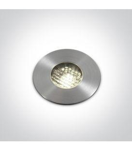 3W LED Įmontuojamas šviestuvas IP67 3000K 69052/W