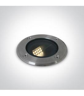 8W LED Įmontuojamas šviestuvas IP67 Steel 69062/W