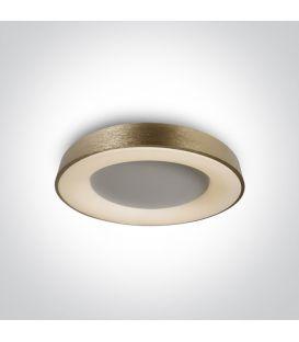 50W LED Lubinis šviestuvas Brass Ø60 62182A/BBS/W