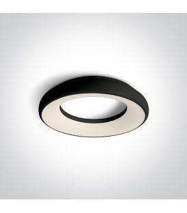 25W LED Lubinis šviestuvas Black Ø30 IP40 67402/B/W