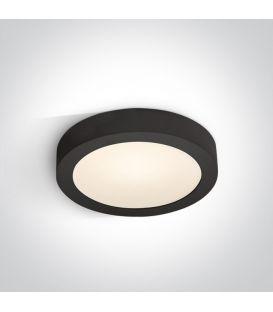 16W LED Paviršinė panelė Black 3000K Ø24 IP40 62115F/B/W