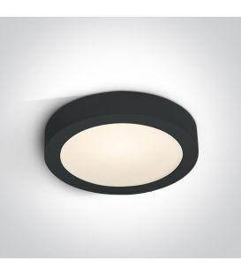 30W LED Paviršinė panelė Black 3000K Ø30 IP40 62130F/B/W