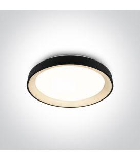 30W LED Lubinis šviestuvas Black Ø37.5 62130L/B/W