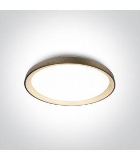 48W LED Lubinis šviestuvas Brushed Brass Ø58 62148L/BGL/W