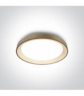 30W LED Lubinis šviestuvas Brushed Brass Ø37.5 62130L/BBS/W