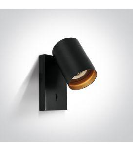 Sieninis šviestuvas RETRO Black 65105NA/B