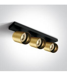Lubinis šviestuvas RETRO 3 Brushed Brass 65305N/BBS