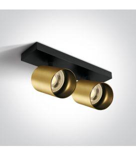 Lubinis šviestuvas RETRO 2 Brushed Brass 65205N/BBS