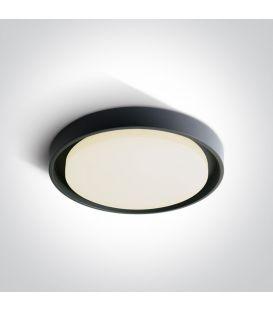 30W LED Lubinis šviestuvas Anthracite Ø34 IP54 67384/AN/W