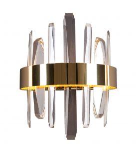 12W LED sieninis šviestuvas PRINCE Gold W0287