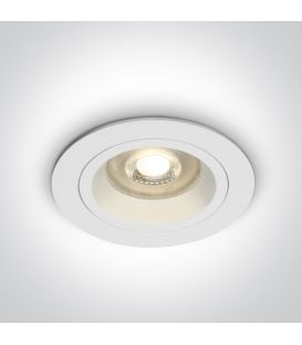 Įmontuojamas šviestuvas DUAL RING White 10105ALG/W