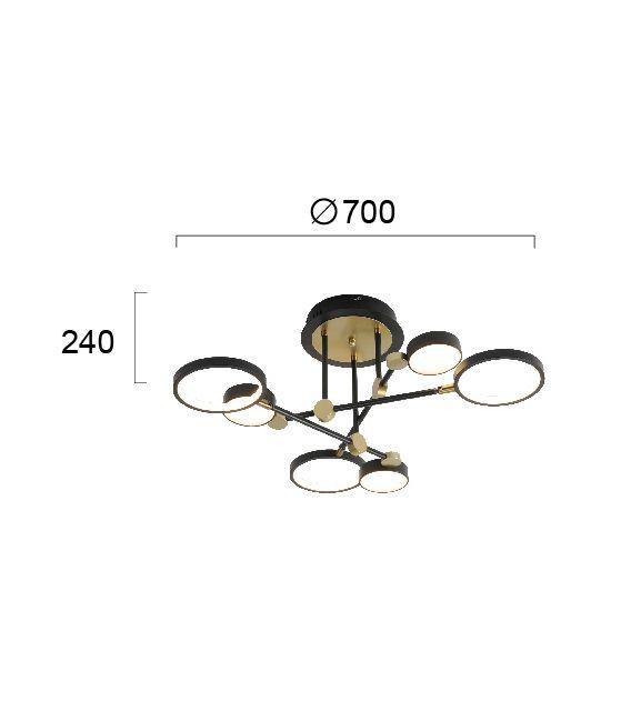50W Lubinis šviestuvas PERK 4251100