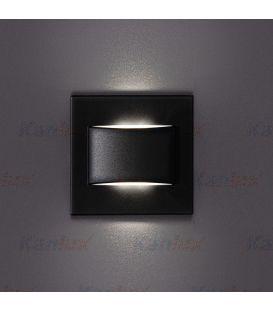 1.5W LED Įmontuojamas šviestuvas ERINUS Black 3000K 33336