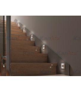 1.5W LED Įmontuojamas šviestuvas ERINUS White 3000K 33324