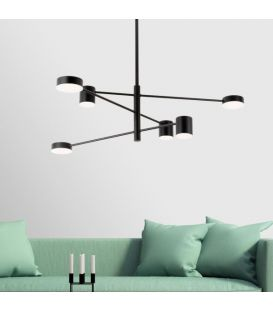 36W LED Pakabinamas šviestuvas EMMA/6N Black 1928