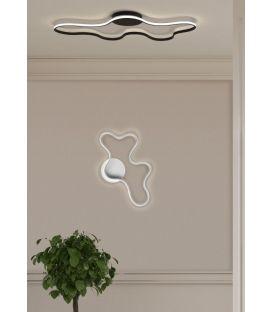 28W LED Sieninis šviestuvas CLARA/PB White 33175