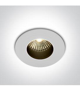 7W LED Įmontuojamas šviestuvas White 3000K IP65 10107H/W/W