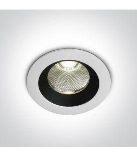 12W LED Įmontuojamas šviestuvas White 4000K IP65 10110P/W/C