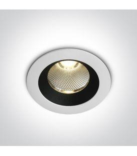 12W LED Įmontuojamas šviestuvas White 3000K IP65 10110P/W/W
