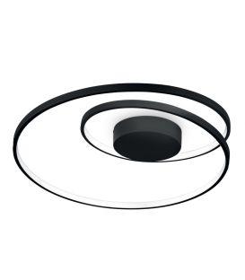 49W LED Lubinis šviestuvas OZ PL Black Ø60 269412