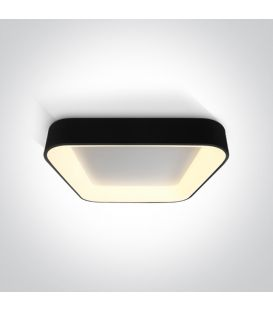 50W LED Lubinis šviestuvas PLAFO Square Black 62142NA/B/W