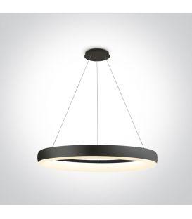 40W LED Pakabinamas šviestuvas RING Black 63114/B/W