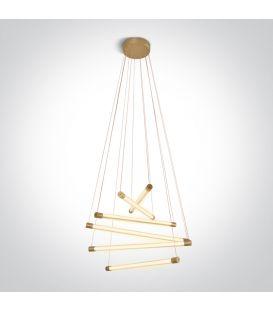65W LED Pakabinamas šviestuvas LIGHT BARS Brushed Brass 63056/BBS