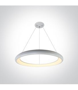 50W LED Pakabinamas šviestuvas RING White Ø61 62144NB/W/W