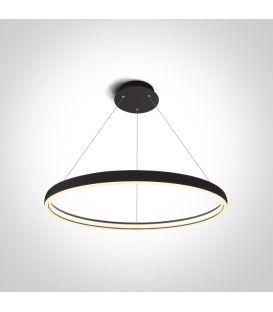 40W LED Pakabinamas šviestuvas RING Black 63050/B