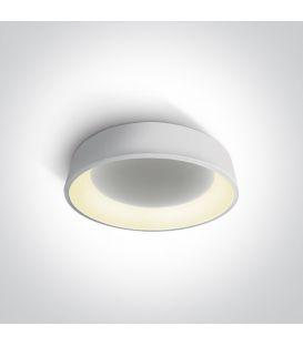 32W LED Lubinis šviestuvas PLAFO Ø45 Round White 62132N/W/W