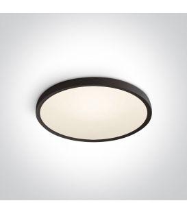 40W LED Lubinis šviestuvas SLIM Ø60 Black 3000K 62152/B/W