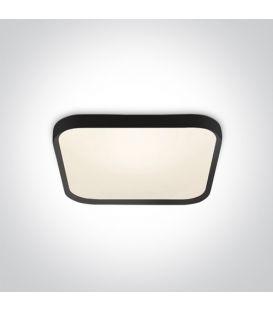 40W LED Lubinis šviestuvas SLIM Black 3000K 62152A/B/W