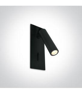 3W LED Sieninis šviestuvas READING Black 65746R/B/W