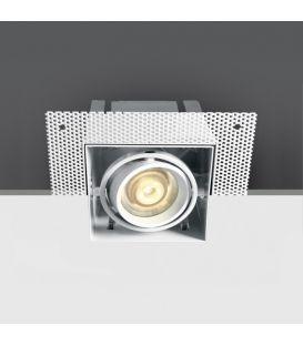 Įmontuojamas šviestuvas Square White 51010TR/W