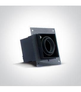 Įmontuojamas šviestuvas Square Black 51010TR/B