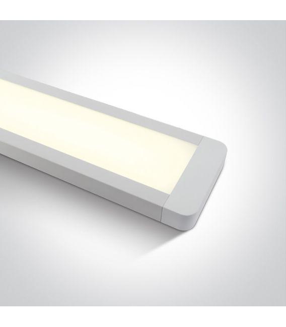 48W LED Lubinis šviestuvas 3000K 38248M/W/W