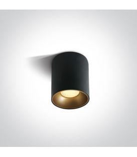 12W LED Lubinis šviestuvas RETRO Black Ø7.3 12112Z/B/W