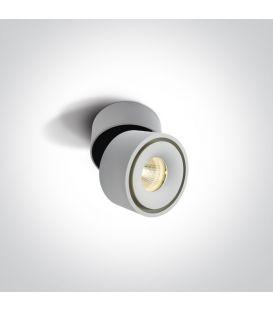 8W LED Lubinis šviestuvas White Ø7.8 12108LA/W/W