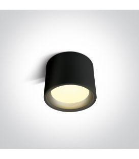 15W LED Lubinis šviestuvas Black Ø13 IP40 12115L/B/W