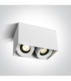 16W LED Lubinis šviestuvas White Dimeriuojamas 12208XA/W/W