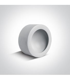8W LED Lubinis šviestuvas HIDDEN White Ø10.7 12108FD/W/W