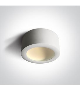 16W LED Lubinis šviestuvas HIDDEN White Ø17.5 12116FD/W/W