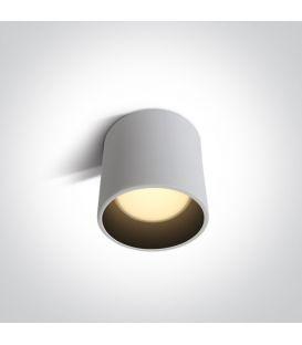 7W LED Lubinis šviestuvas White Ø10 12107LD/W/W