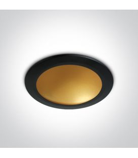 16W LED Įmontuojamas šviestuvas Black 10116FD/B/BS