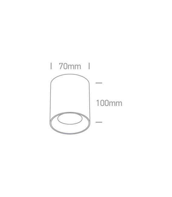 Lubinis šviestuvas Black 12105AL/B/GL